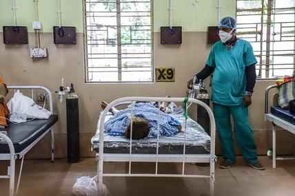 """印度出现首例感染""""德尔塔+""""死亡病例,患者未接种疫苗"""