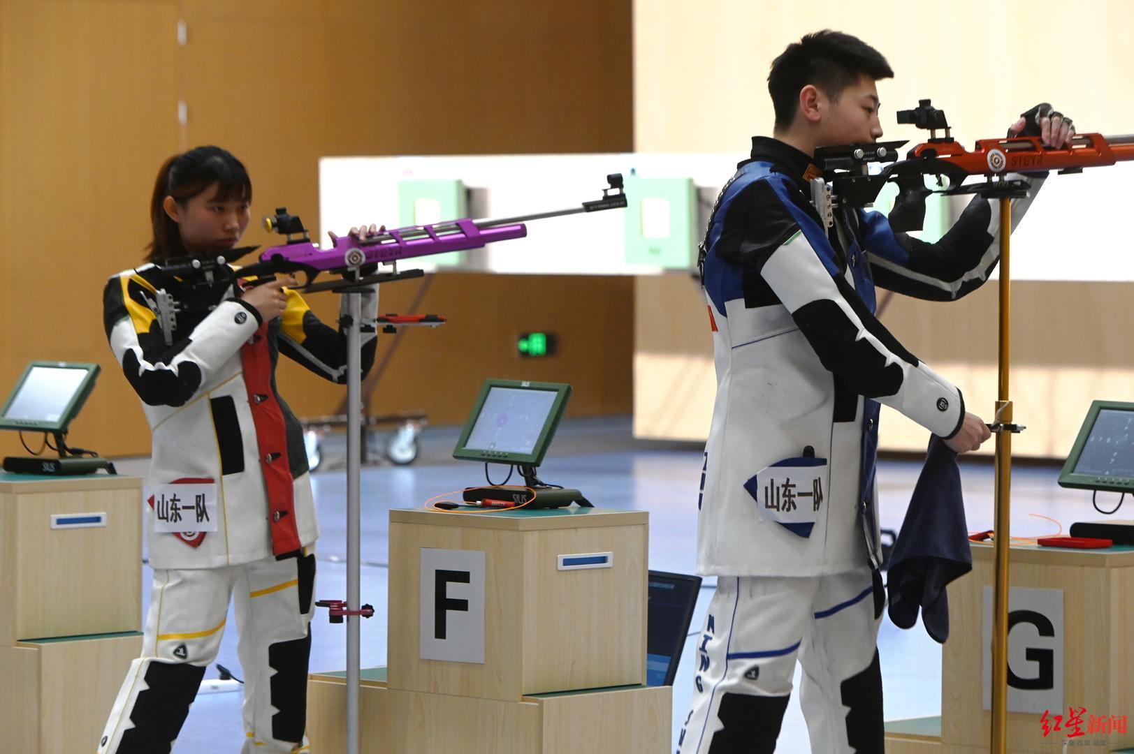 全国射击锦标赛:山东队包揽今日两枚金牌,国家一队仅获一枚铜牌