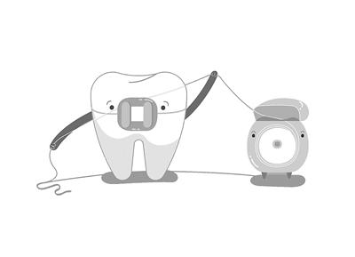 牙线能让牙缝变大?错!是牙签干的
