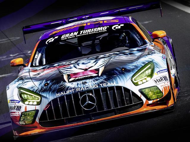 梅赛德斯-AMG GT3赛车推出特殊涂装车型,6月4日亮相