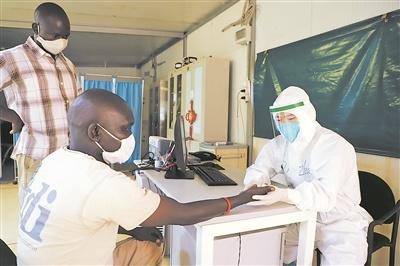 ——记我第11批赴南苏丹(瓦乌)维和医疗分队军医张辰新