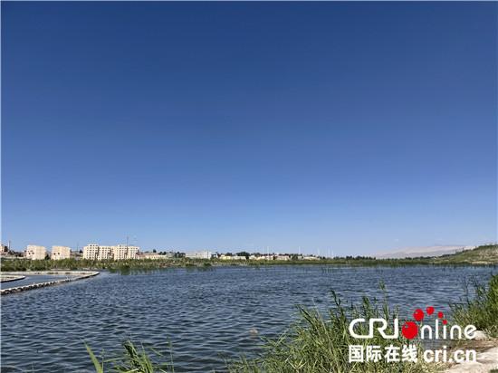 (外籍记者新疆行)喀什市北湖公园——沙漠中的城市绿洲