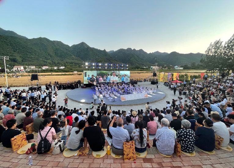 现代艺术邂逅乡村振兴 2021·第三届关中忙罢艺术节启幕
