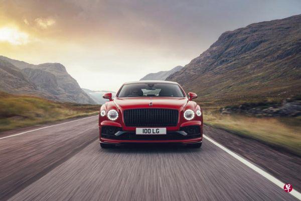 """从零加速到百公里只需4.1秒:宾利推出新一代""""飞驰""""豪车"""