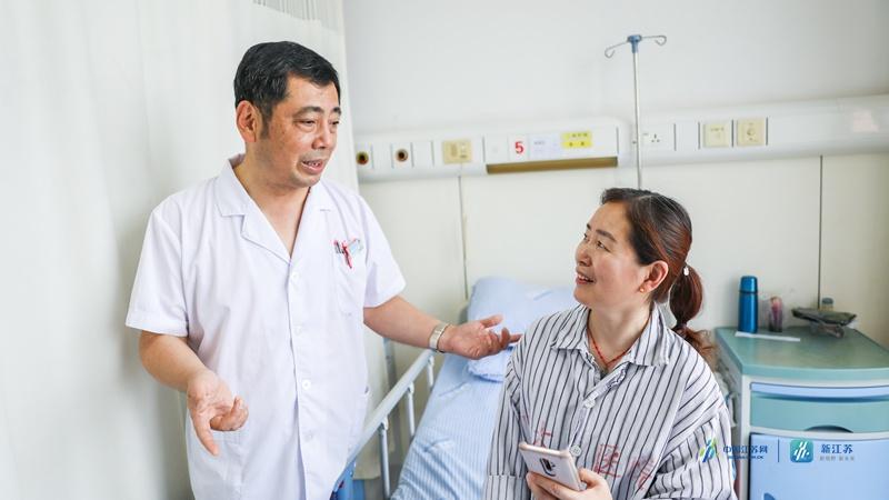 罹患胸腺肿瘤伴有转移,碘粒子助她恢复多彩人生