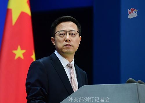 """加外长指责中国""""胁迫外交"""",外交部:无视基本事实,充满意识形态偏见"""