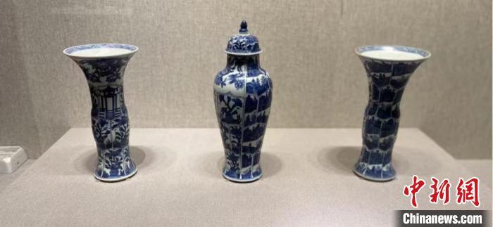 55件(套)清代外销青花瓷器亮相金上京历史博物馆
