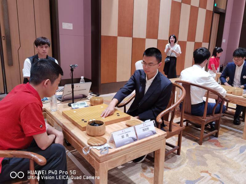 【中国男子围甲联赛】深圳队战胜北京棋院队