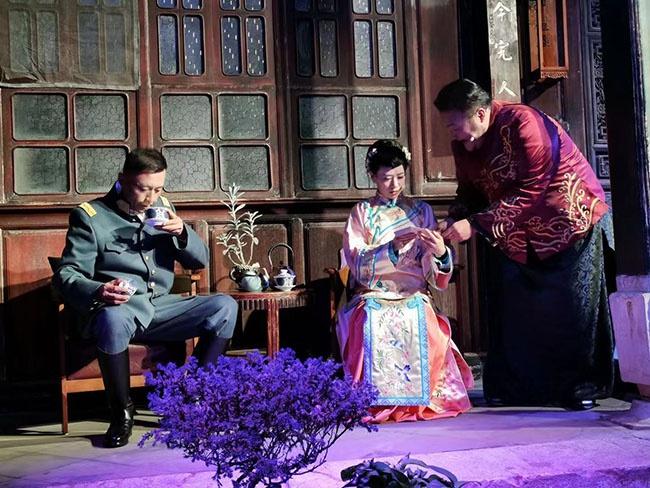 云南首部原创庭院音乐剧《蔡锷与小凤仙》首演