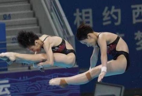 十四运会竞技项目诞生首金 江苏队女子双人跳台折桂