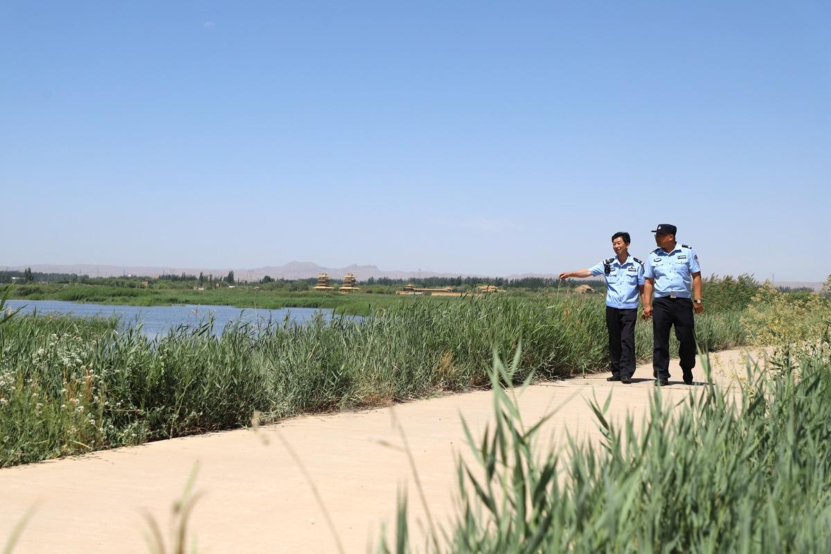 """青铜峡公安守护宁夏""""湿地之肾""""  构建环境保护新格局"""