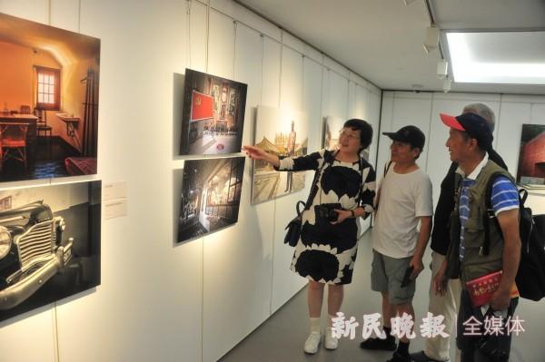 """用影像展现上海""""红色文化"""",""""光辉百年""""主题摄影展今开幕"""