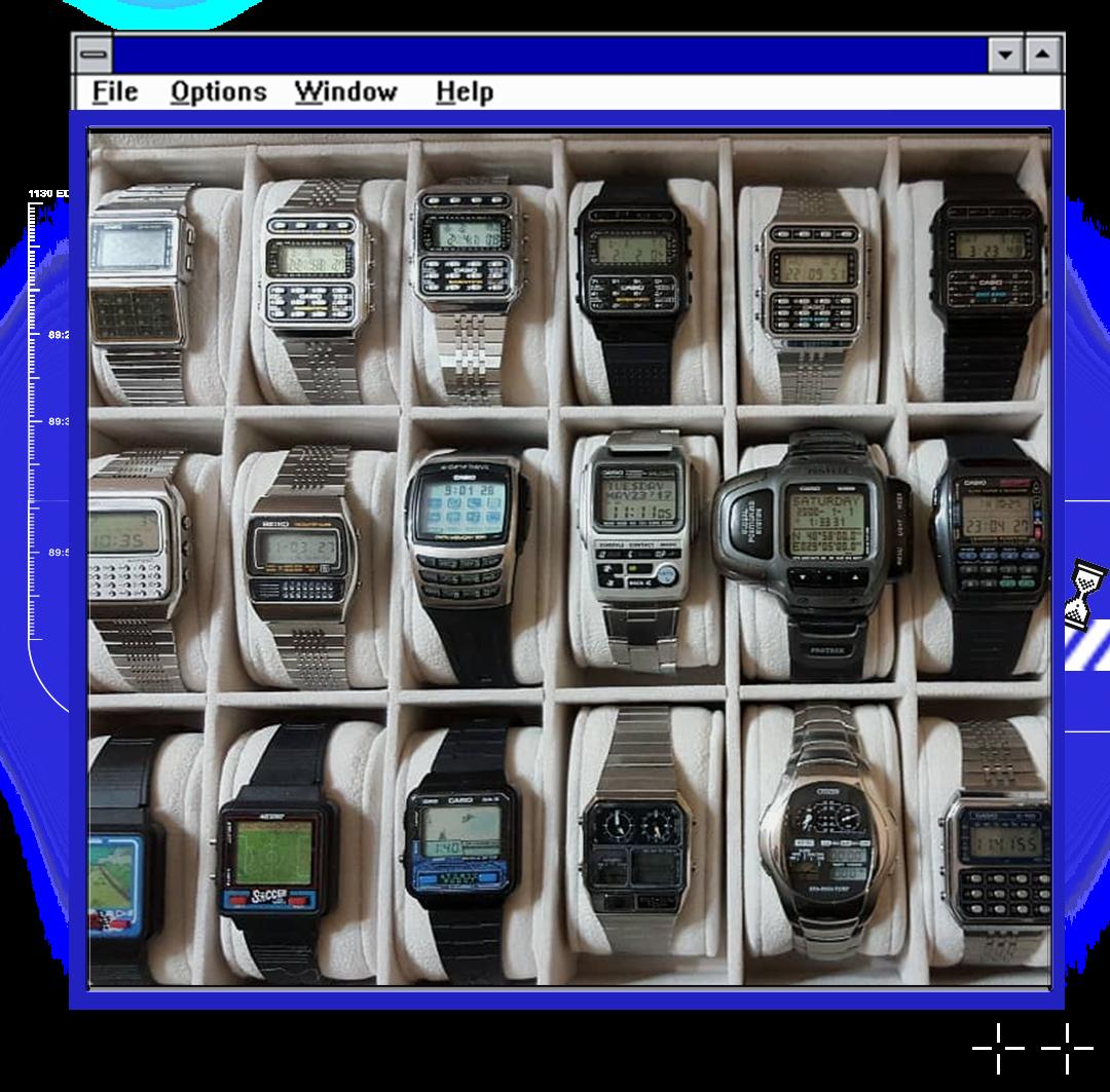上世纪末,「智能手表」都长什么样?