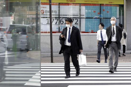日本政府预测2020财年实际GDP将萎缩4.5%