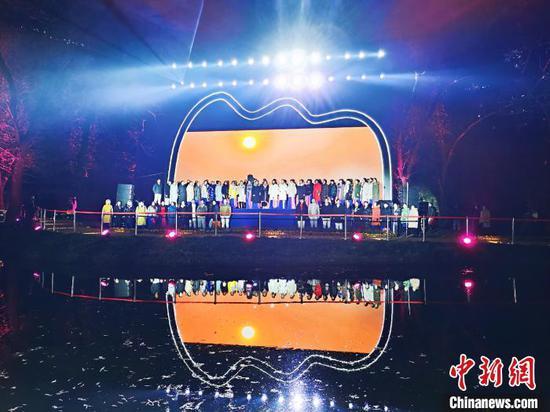 河南焦作陈家沟举行庆祝活动