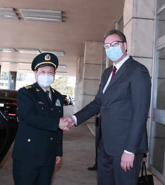 魏凤和访塞尔维亚:中国军队绝不允许这样的历史重演
