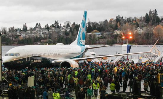 波音737MAX下線