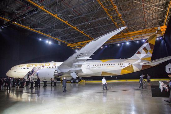 阿提哈德航空波音787客机