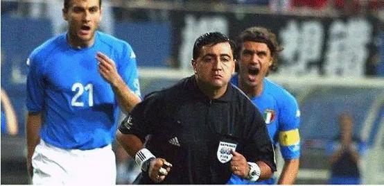 歷史最黑黑哨17年后認錯 世界杯幫韓國淘汰意大利