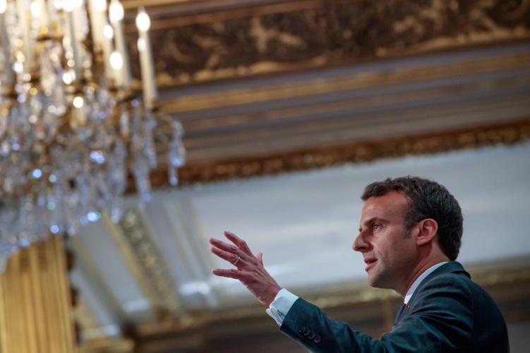 法国总统马克龙(图:法新社)
