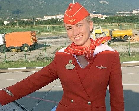 34岁的空姐塔季扬娜(图源:每日邮报)