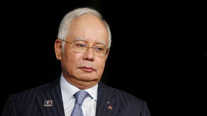 马来西亚前总理纳吉布(BBC)