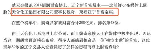 天合化工为复牌行贿假首长被骗1.44亿 施骗者多为高中毕业