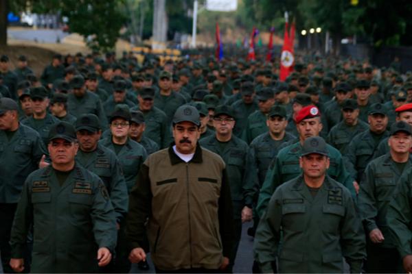 委内瑞拉总统马杜罗(图:俄罗斯卫星通讯社)