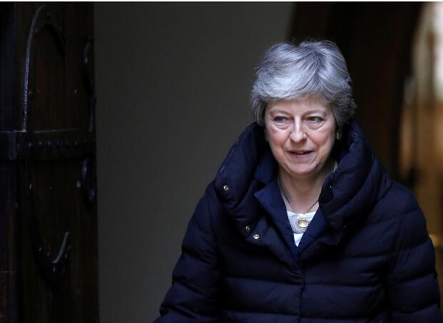 英国首相特雷莎·梅期望尽快与工党达成妥协。(图:路透)