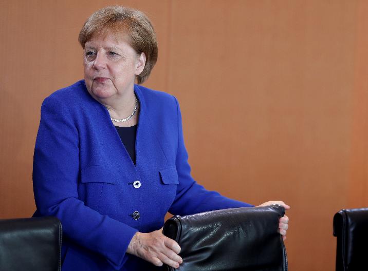 德国总理默克尔(图源:美联社)