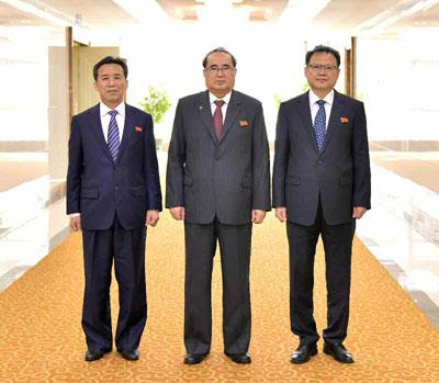 朝鲜党政代表团抵达古巴访问 机场获迎接(图)_法国新闻_法国中文网