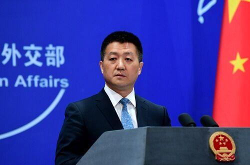 5月24日,外交部发言人陆慷主持例行记者会。