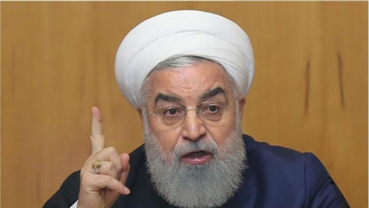 伊朗总统鲁哈尼。(图:今日帕尔斯)