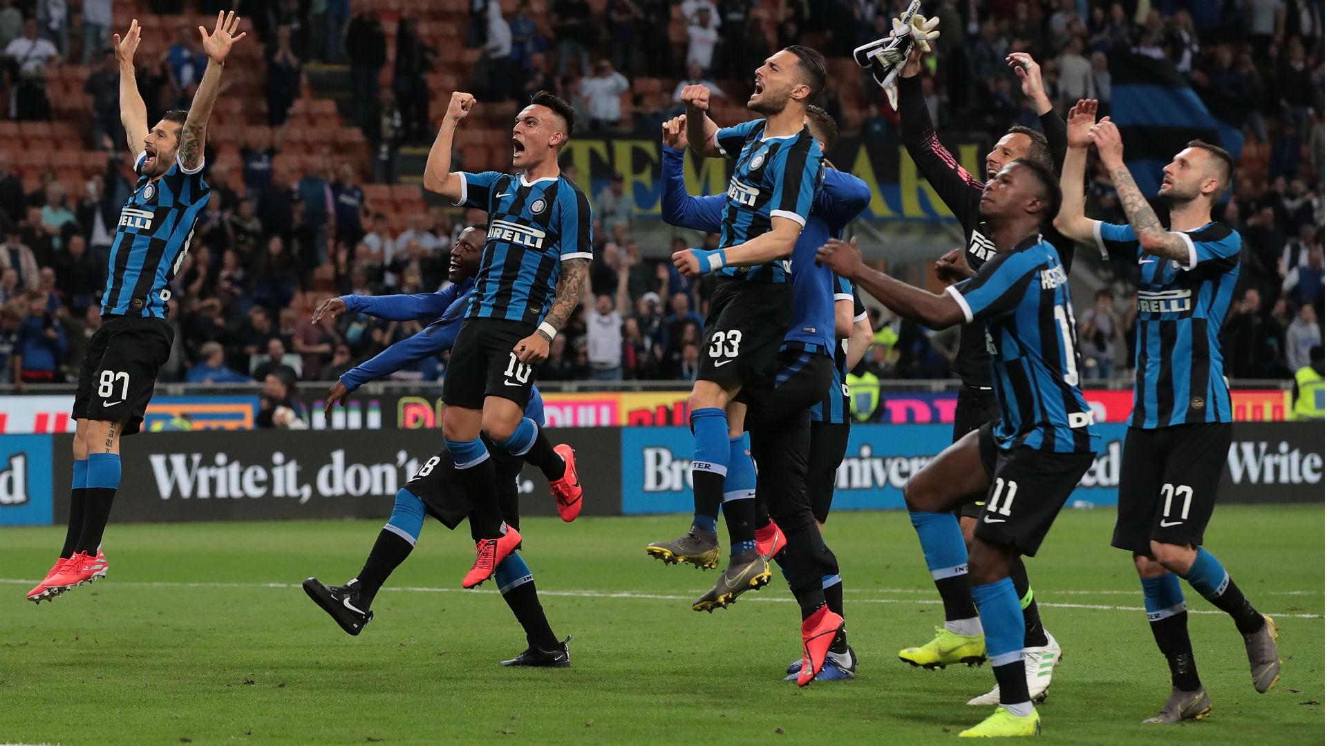 意甲大结局:两支蓝黑进欧冠 德罗西告别罗马