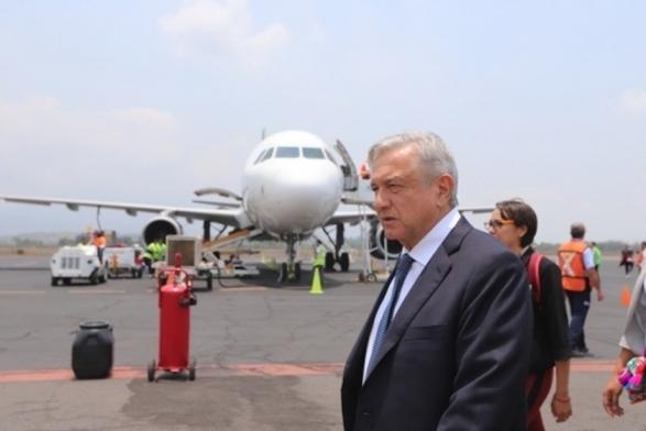 """墨西哥总统洛佩斯 (图源:墨西哥""""El Universal""""媒体)"""