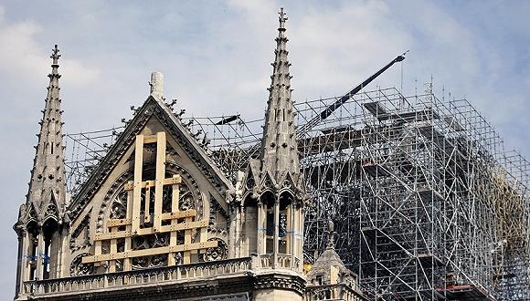 法国设计师提交巴黎圣母院重建方案 中新网