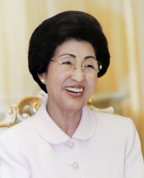 韩国前总统金大中遗孀李姬镐(韩联社)