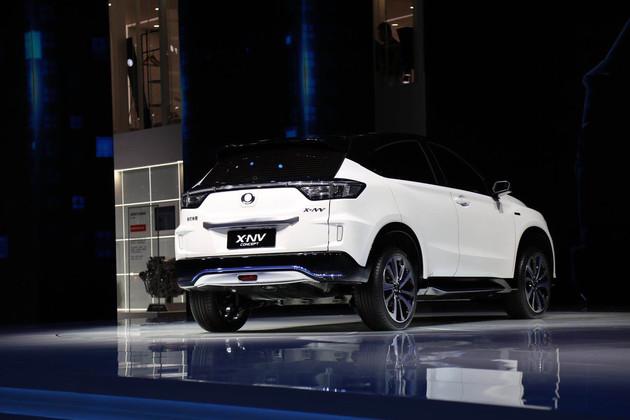 東風本田首款電動SUV四季度上市