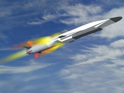高超音速导弹想象图。