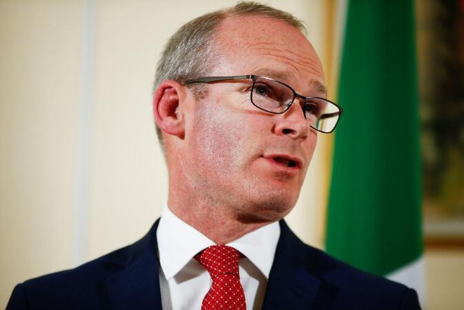 """爱尔兰外长警告英首相候选人别""""愚弄""""脱欧问题。(图:路透社)"""