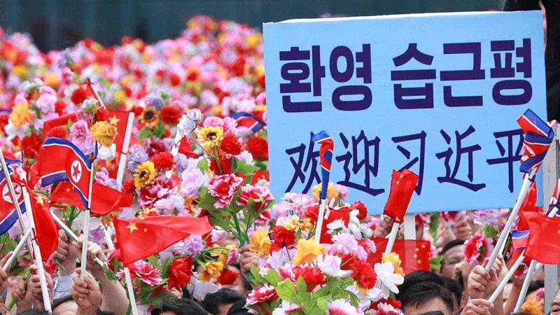365bet预测-习近平对朝鲜进行国事访问成果丰硕 影响深远