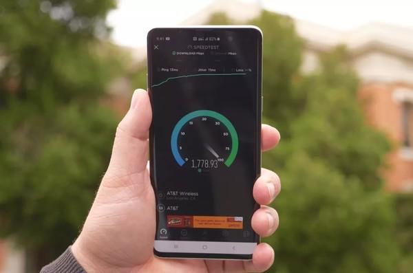 AT&T 5G网络最高速度