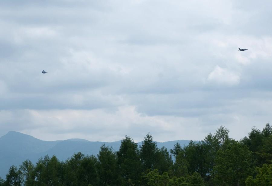 美战机掠过北海道村镇令当地不安 日政府讨说法