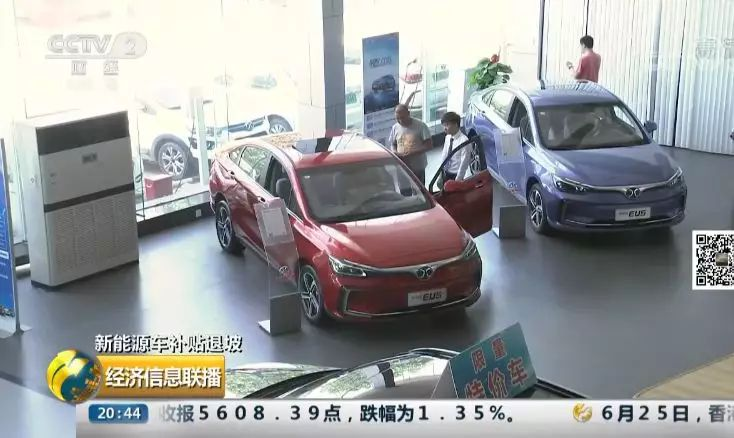 """新能源汽車補貼要變 有的車買一輛就""""損失""""3萬"""