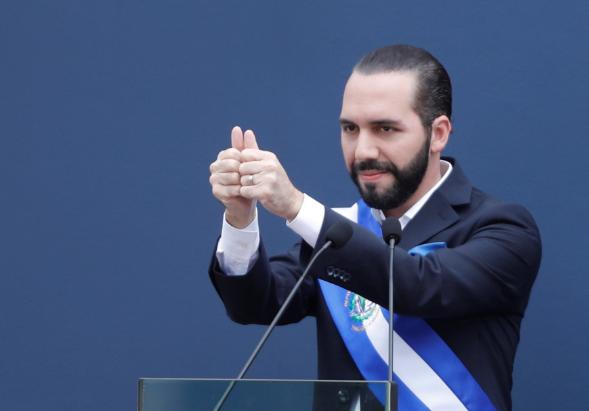 萨尔瓦多新总统布克尔(路透社)