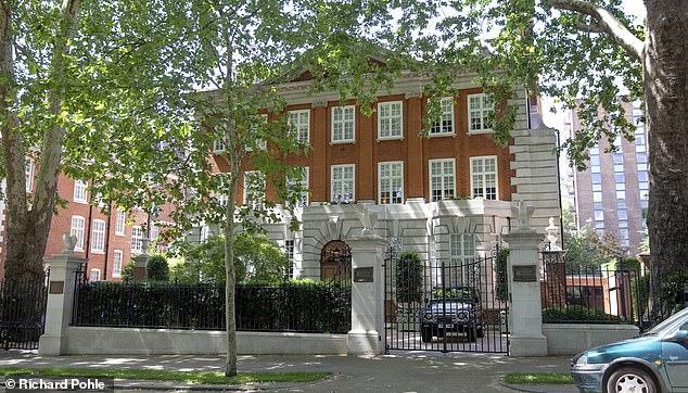 哈雅公主在肯辛顿宫附近购下的豪宅。每日邮报