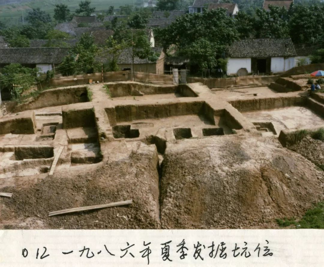 1986年夏季发掘坑位。(图片由杭州良渚遗址管理区管理委员会提供)