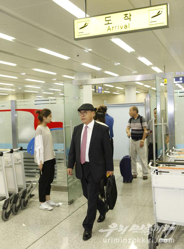 崔仁国抵达朝鲜