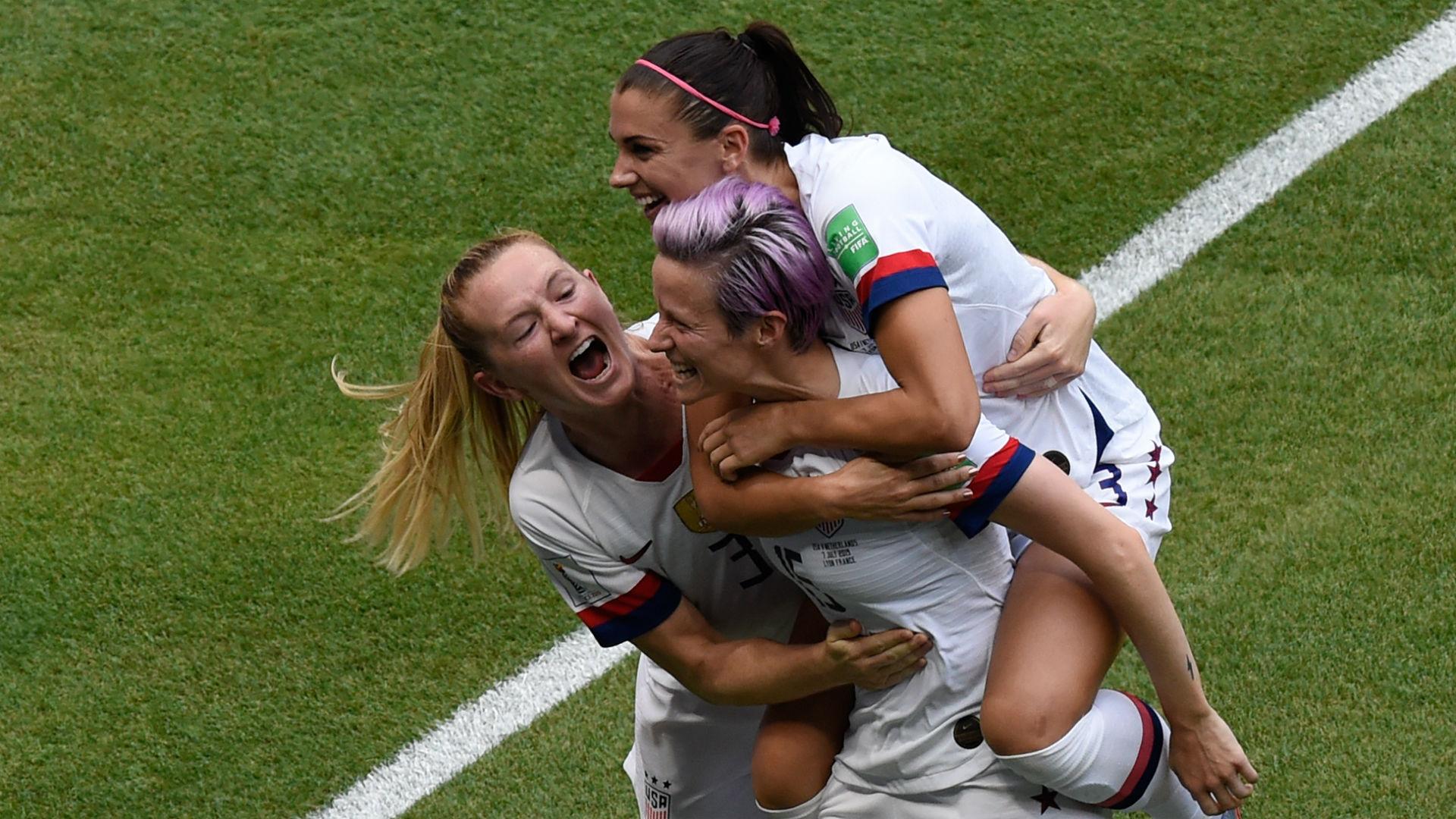 彰显霸主地位 美国击败荷兰卫冕女足世界杯
