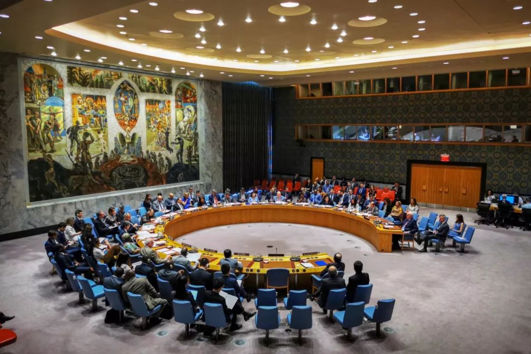 6月26日,在位于纽约的联合国总部,安理会召开伊核问题公开会。新华社记者 李木子 摄